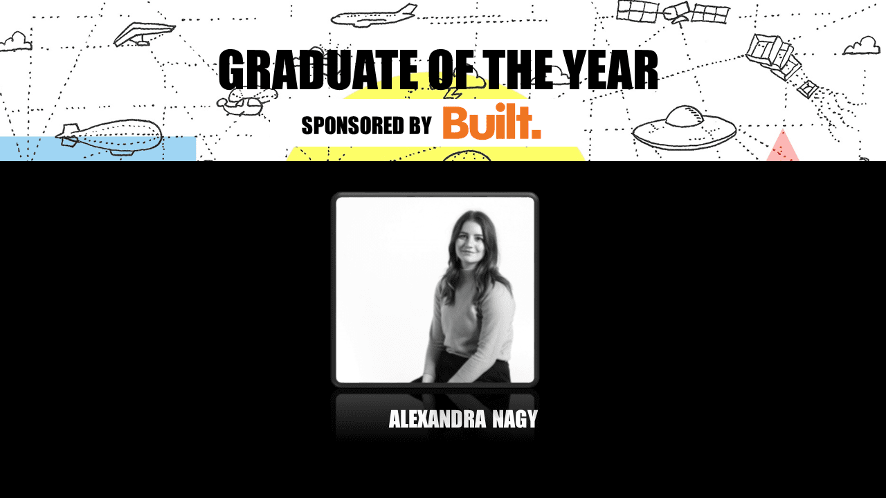 Alexandra Nagy from SHAPE wins Graduate of the Year at NAWIC 2020 Awards